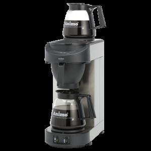 Koffiezet-apparaat met glaskan