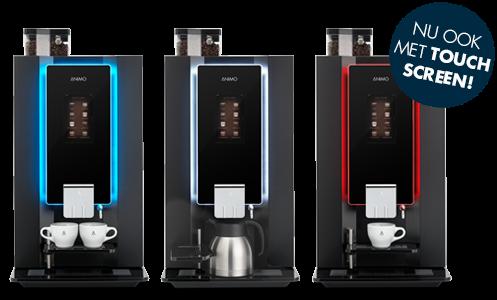Koffie-automaat met bonen