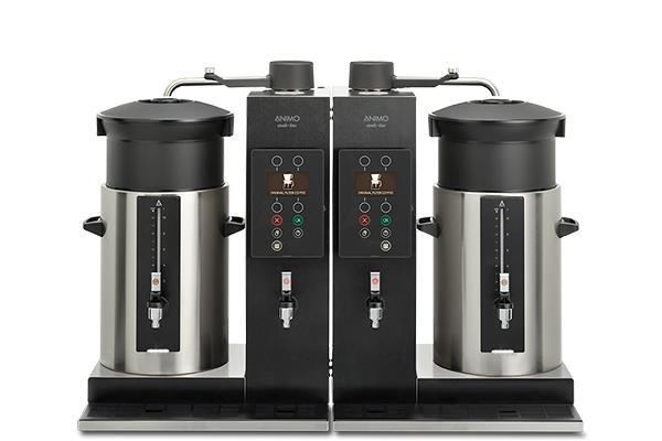Koffiezet-installatie