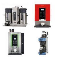 Koffiemachines & heet water