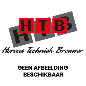 Buffalo dubbele contact grill r.gegroefd l.glad
